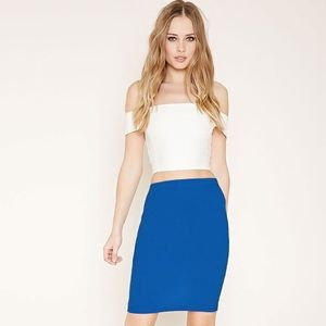 DISCONTINUED Forever 21 Midi Pencil Skirt